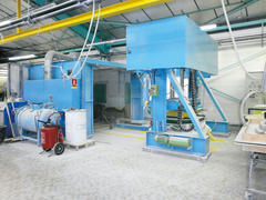 Production sous presse thermo-reglée